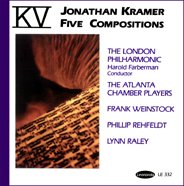 composer Jonathan Kramer CD cover