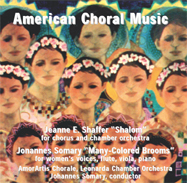 American Choral Music CD cover