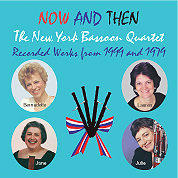bassoon quartets CD cover