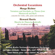 CD cover Orchestral Excursions
